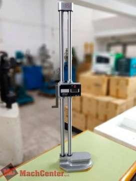 Calibre digital de altura doble columna de acero 0.600mm