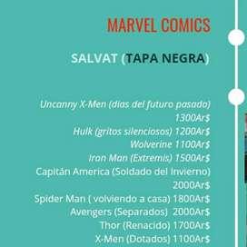 Marvel Comics (Salvat tapa negra)