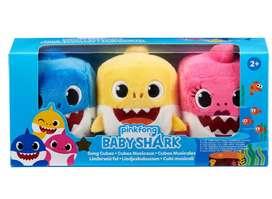 Baby Shark Pink Fong Cubo Canción Oficial Familia X3 Entrega Inmediata
