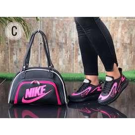 Combo Calzado y Bolso Nike 720 Power