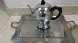 Cafetera vintage no funciona sirve para decoración