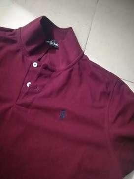 Camiseta tipo polo tallaL $40 c/u las 2x 70