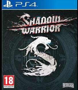 Shadow Warriors PS4 FISICO