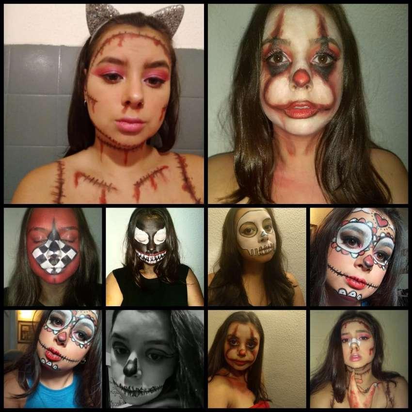 Maquillaje Fiesta de Disfraces 0