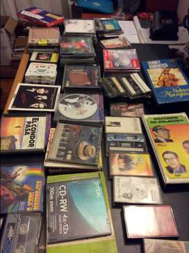 Cassettes y CDs de colección