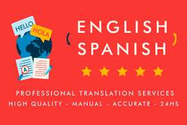 Tranductor English to Spanish traductor de ingles a español