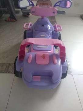 Moto electrica niña perfecta