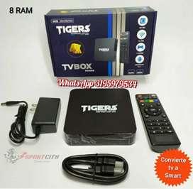 ‼Convertidor tv convencional a Smart TV box