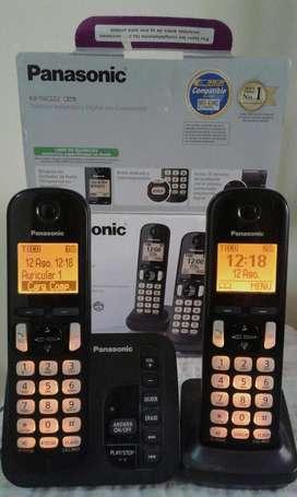 Teléfono PANASONIC Doble base 80