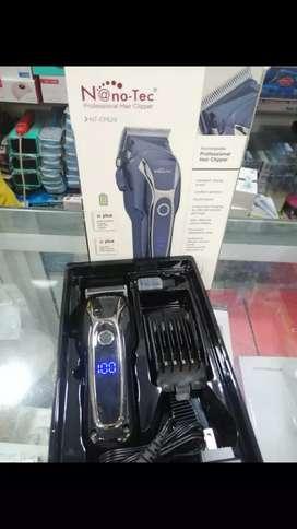 Máquina Hair Clipper Recargable Nano Tec