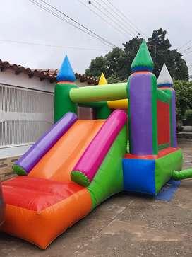 Alquiler colchon inflable castillo
