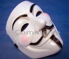 Máscara Anonymous V Venganza Dia De Las Brujas Halloween