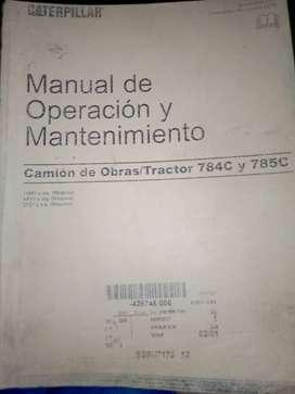 Vendo manual de camión minero