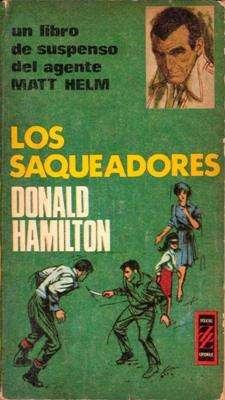 Libro: Los saqueadores, de Donald Hamilton [novela de espionaje]