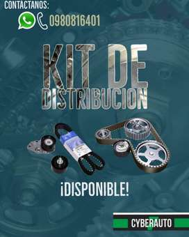 Kits de Distribución Grand vitara, sz, sentra, tucson, terracan, dmax, rodeo v6 hilux, aveo, corsa, cruze, accent