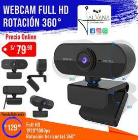 Webcam Full HD - Cámara web