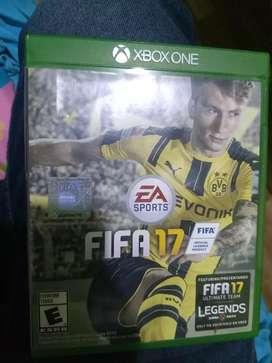 juego xbox one fifa 17