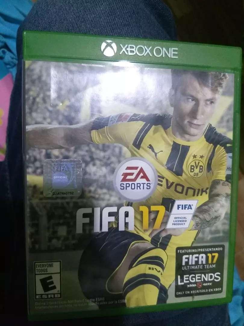 juego xbox one fifa 17 0
