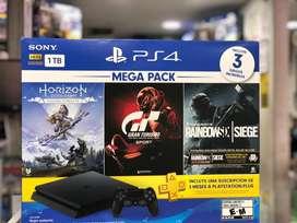 Consola de ps4 Mega pack