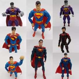 Figuras Superman  ,(bizarro,ultraman ,Superman )