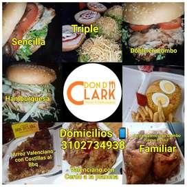 Arroces & Hamburguesas Dónde Clark