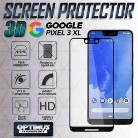 Vidrio Screen Cristal protector para Smartphone Google Pixel 3XL