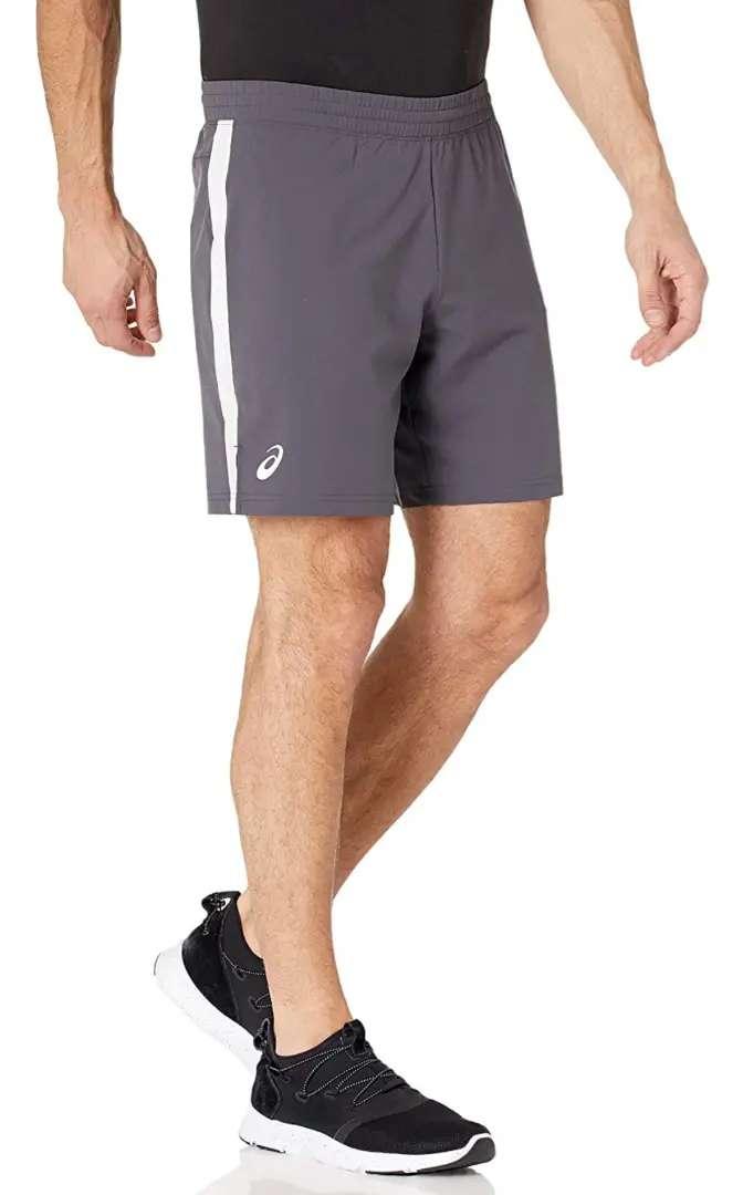 Pantaloneta deportiva - asics - gris - Talla S