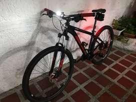 Bicleta GW Zebra como nueva