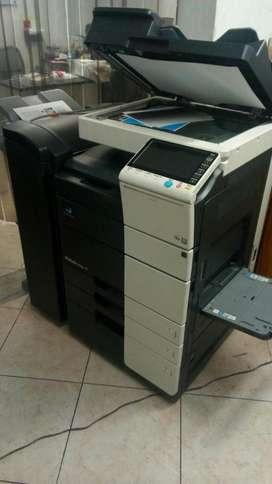 Minolta C454 full color, Fotocopiadora, Impresora y Scaner