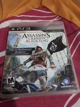 Vendo juego Assasin Creed IV Black Flag ps3