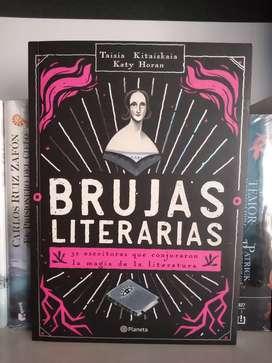Brujas literarias 30 escritoras Libro ilustrado