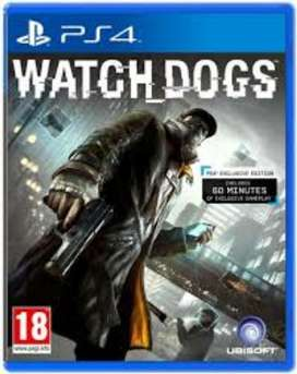 Watch Dogs 1 Ps4 Fisico