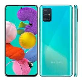 Vendo Samsung A51 semi nuevo