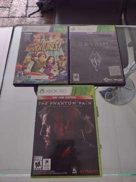 Se vende juegos para Xbox 360
