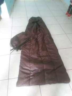 Bolsa de dormir y maletines
