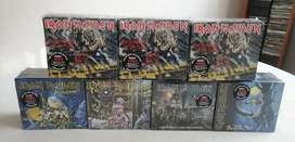 Iron Maiden box deluxe remasterizados