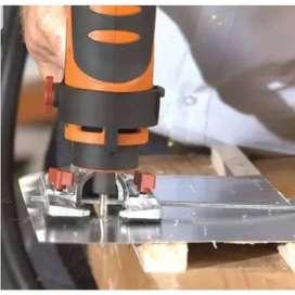 Taladro sierra renovator multifuncional twist a saw