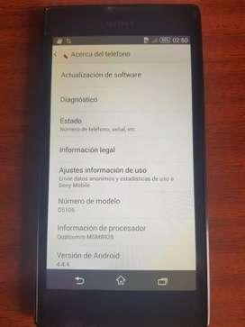 Display Sony Xperia T3 negro original