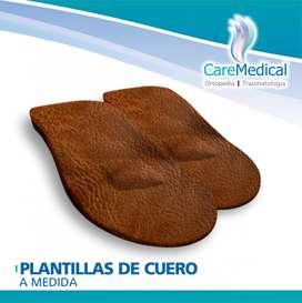 Plantillas Ortopédicas De Cuero A Medida - Ortopedia Care Medical