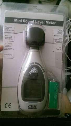Decibelometro  sonometro medidor decibeles