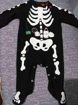 Ropa de bebé disfraz de la calaberita