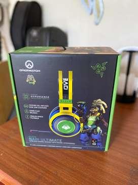 Audífonos Razer Nari Ultimate Overwatch Lúcio Edition