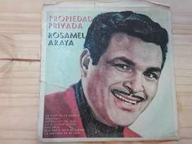 Disco de vinilo de Rosamel Araya