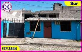 CxC Venta Casa Independiente, Quito Sur, Exp. 3544