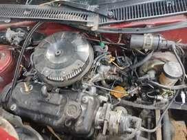 Vendo motor y caja Chevrolet Swift 1.3