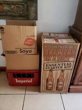 Kit para hacer cerveza Brewery in a Box