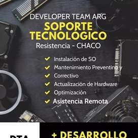 DEVELOPER TEAM ARG - Servicio técnico de PC, Notebook, Netbook - Desarrollo de Aplicaciónes Moviles
