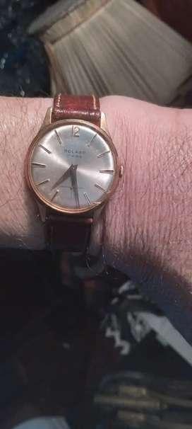 Reloj a cuerda bolaro antiguo caballero funcionando
