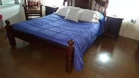 Se vende cama de algarrobo!