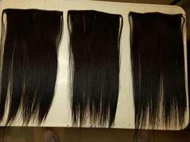 Extensiones de cabello natural  cortinas